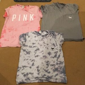 3 pink lot size large